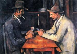 Paul Cézanne, The Card Players (1892/93), Private Collection of the Royal Family of Qatar. Acquired for 250 million dollars in 2011.